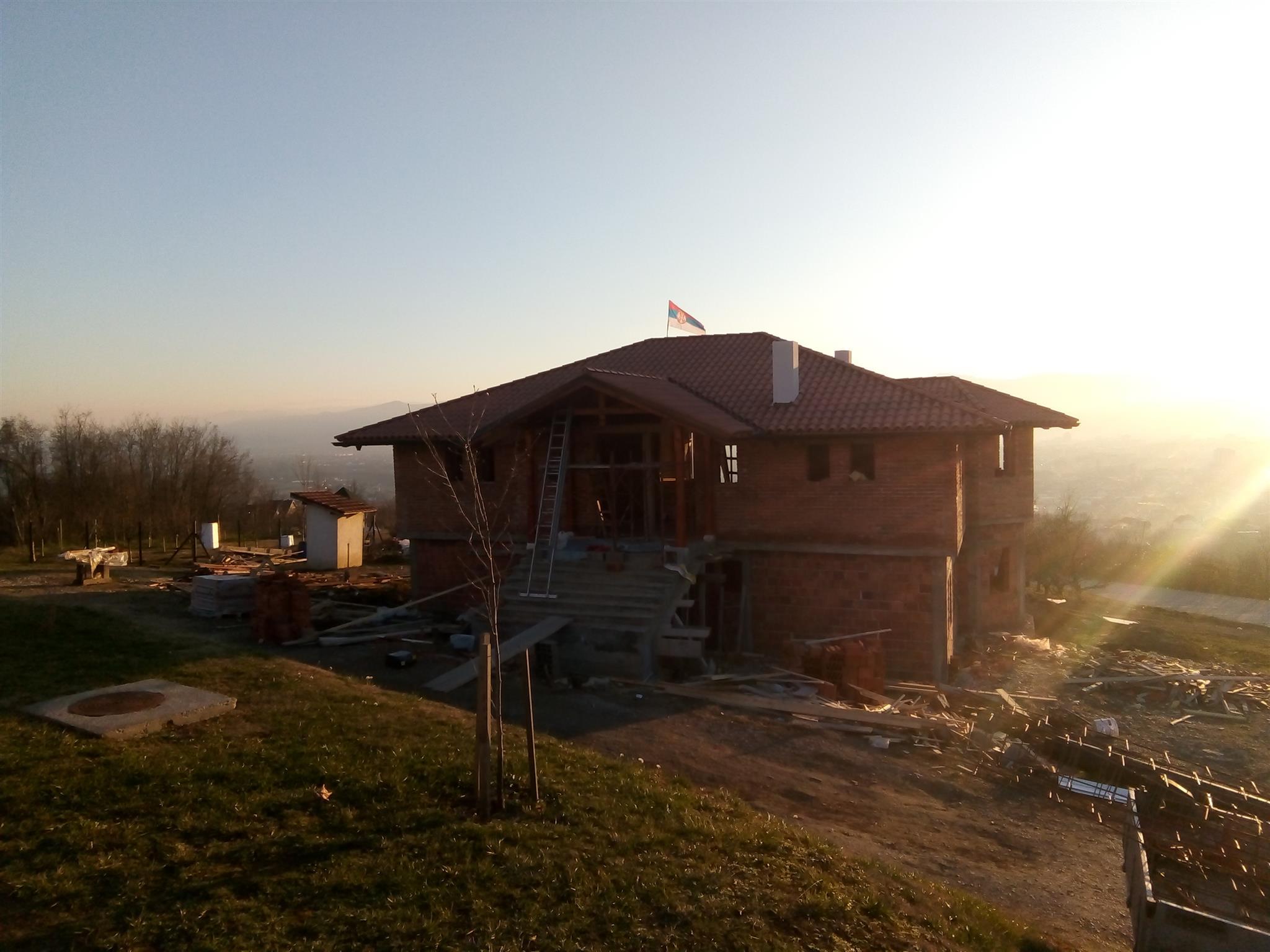 Покривен парохијски дом