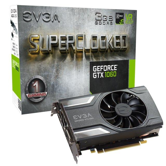 EVGA Geforce GTX 1060 3Gb ITX