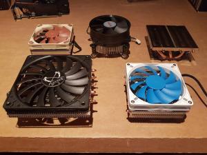 58mm CPU Cooler Comparison