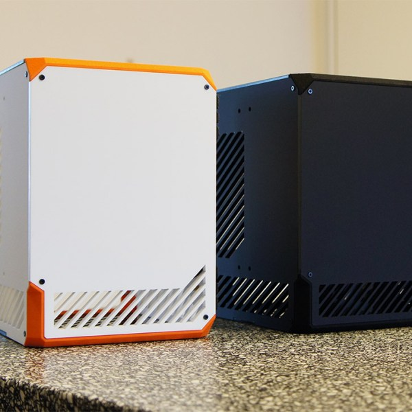 LZ7 First Edition Black and White - SFF Mini Tower Gaming Case