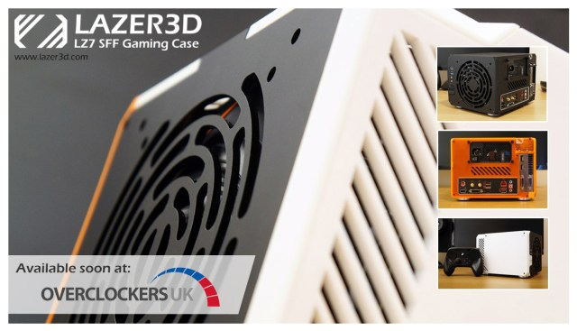 Lazer3D LZ7 available to order soon at Overclockers UK