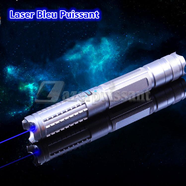 laser bleu puissant
