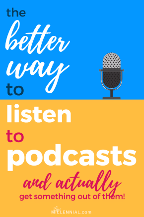 listen to podcasts pin