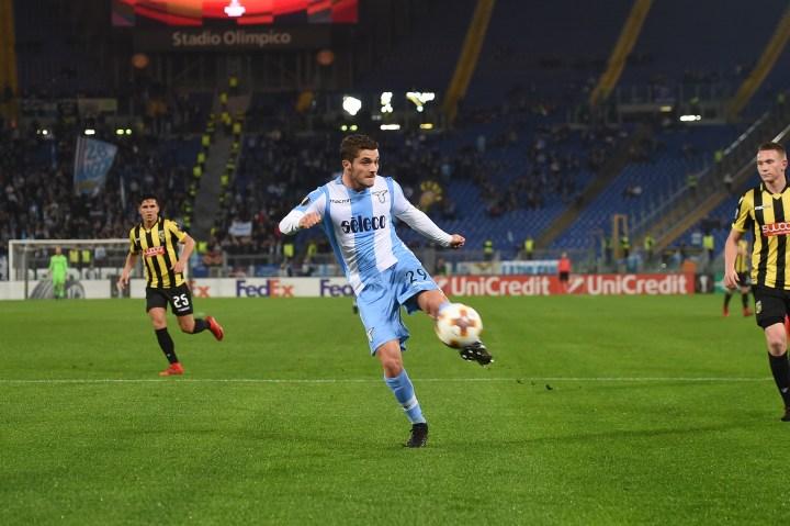 Palombi con la maglia della Lazio | Numerosette Magazine