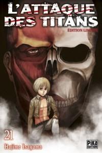 Gagner des mangas L'Attaque des Titans