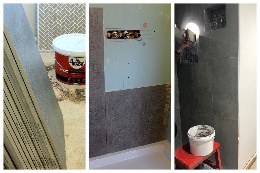 tile shopping for our ensuite bathroom renovation