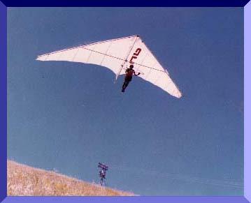 Me Flying My Hanglider In Roseburg, Oregon