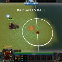 Forget ancients. Defend your goalposts in Dota Soccer!
