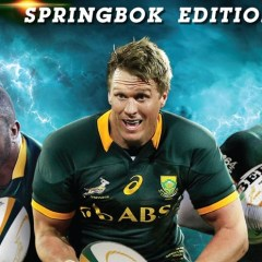 Here's who won a copy of Rugby Challenge 3 and a signed Springbok shirt
