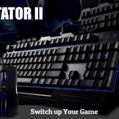 Unboxing & giveaway of the Cooler Master Devastator II Gaming Combo!