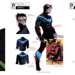 DC Rebirth redesigns for Nightwing, Arsenal and Donna Troy revealed