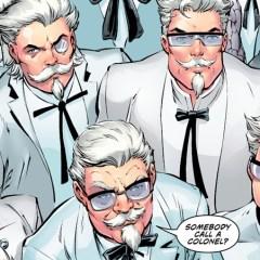 DC's latest KFC Comic is finger-lickin' insanity