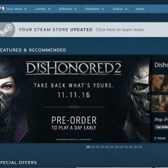 Steam's overhauled front page is still quite confusing