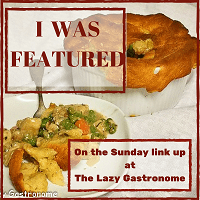 The Lazy Gastronome - what's for dinner feature