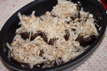 mushrooms second bake