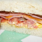 Fried Bologna Sandwich