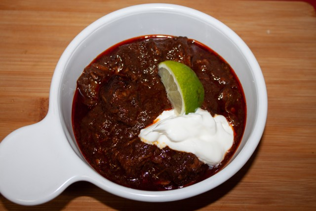 bowl o'red chili