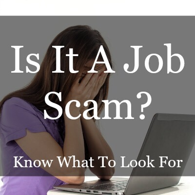 Is it a job scam? What to look for…