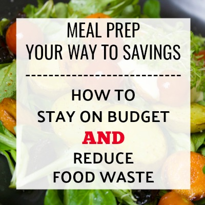Don't Waste Your Food. How to Meal prep to stay on Budget.