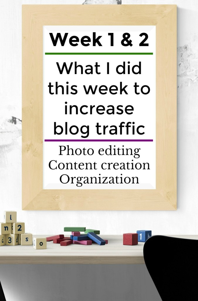 Photo editing, Content creation, Organization. Grow blog traffic and monetize.