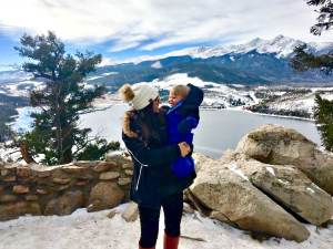 Winter Vacation with a baby