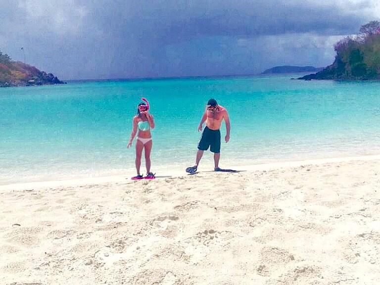 Virgin Islands on a budget | St. John | Trunk Bay