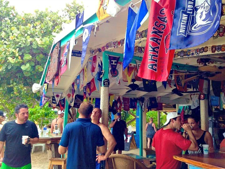 Virgin Islands on a budget | Jos Van Dyke | Soggy Dollar Bar