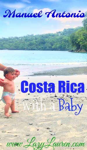 Costa rica with baby