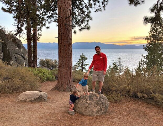 Lake Tahoe with kids