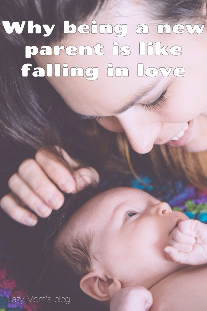 New parent like falling in love