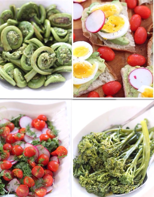 Fast and easy summer recipes