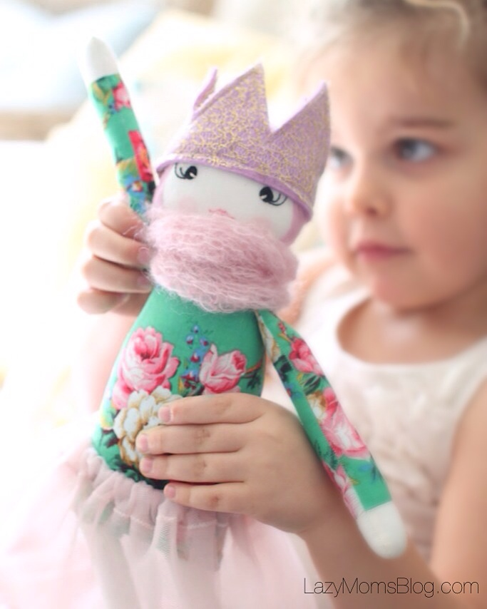 Whimsical dolls for imaginative kids