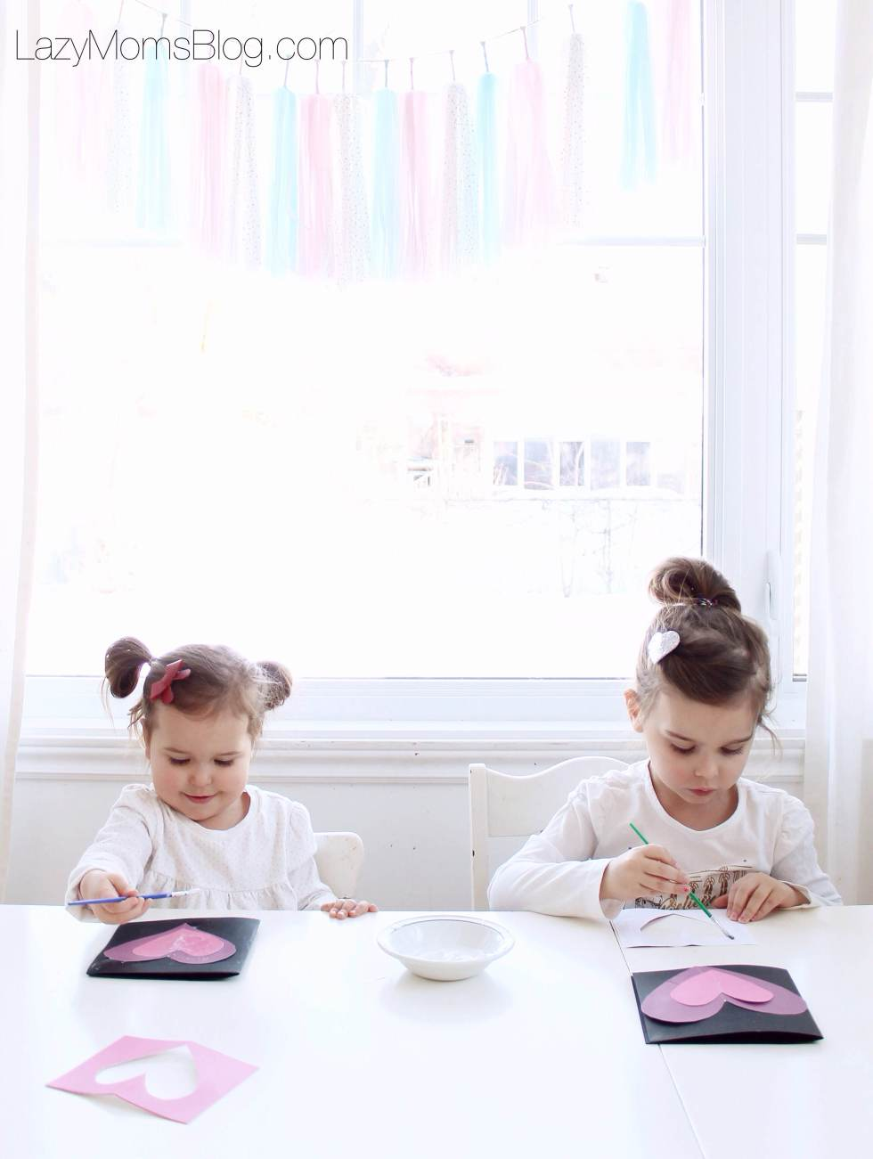 Valentines days ideas to do with kids, that they can actually make alone!