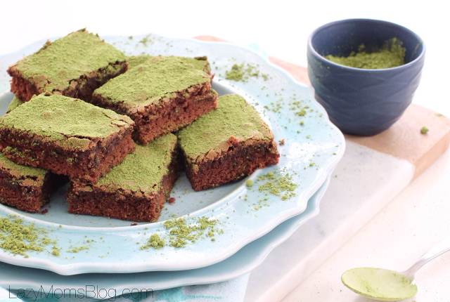 easy and yummy matcha brownies