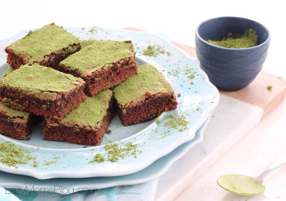 matcha brownies