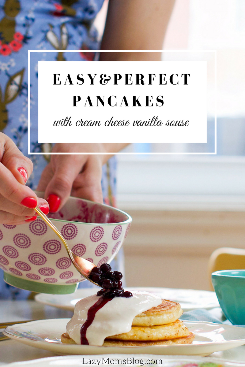 Easy & perfect fluffy pancakes