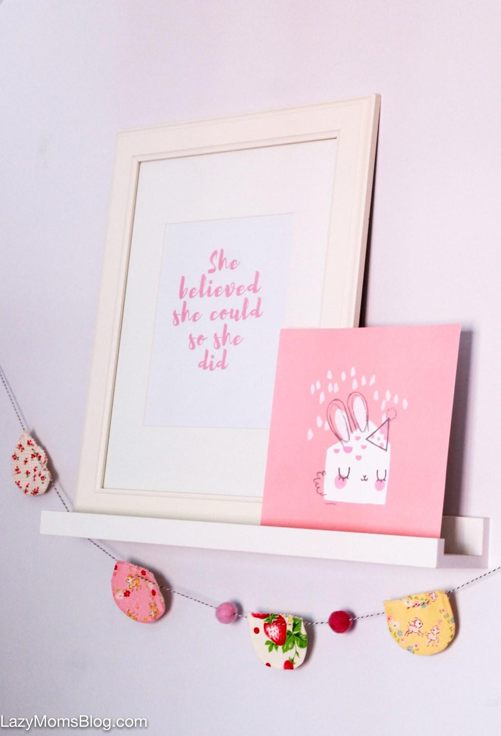 DIY inspiring quote prints