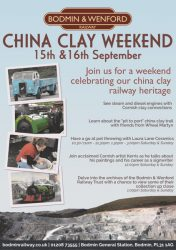 China Clay Weekend Promotional poster