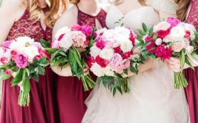 Blushing Spring Wedding