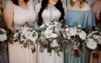 Pastel Floral Farmhouse Wedding