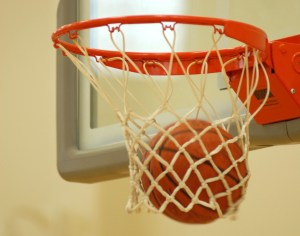 The playoffs begin for the over-30 basketball league Aug. 4 at the fitness center here. The championship game is scheduled to take place Aug. 10 at the fitness center gym here.