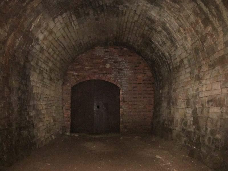 Inside North portal