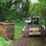 Wagon at Drybrook