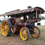 Foster showman's engine