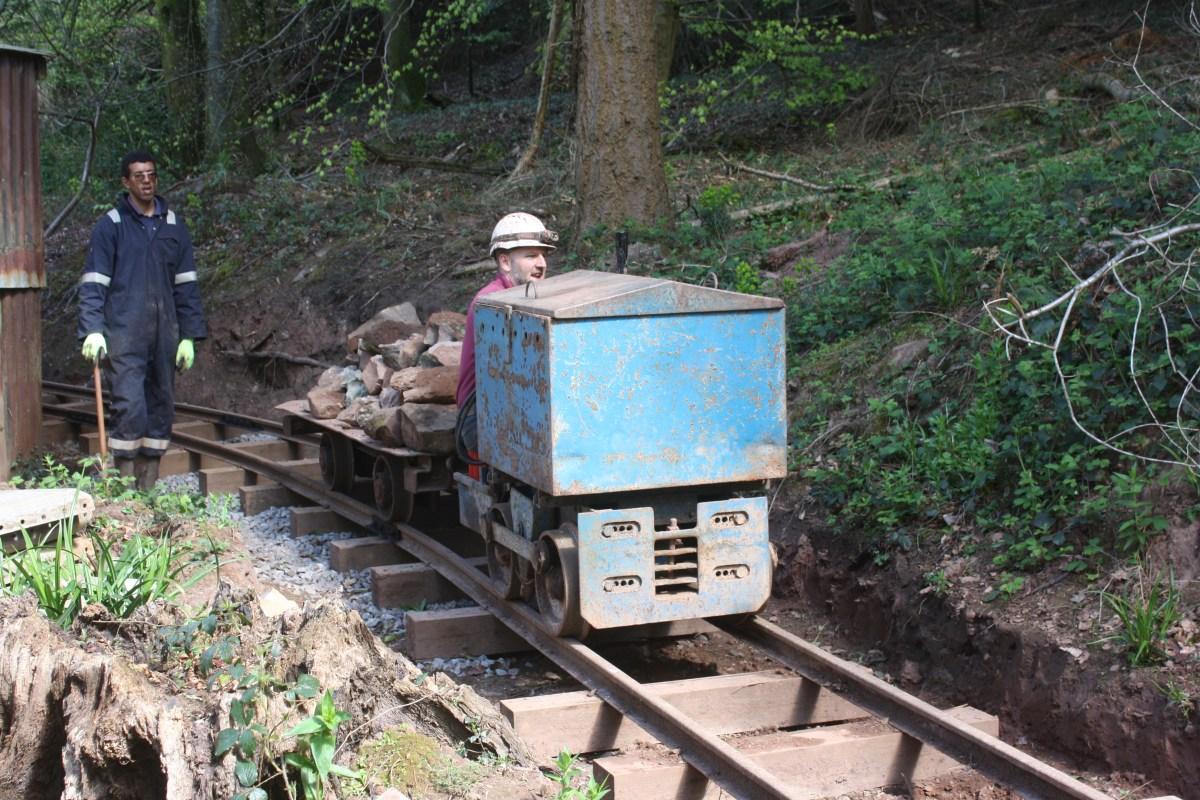 Rocks by rail