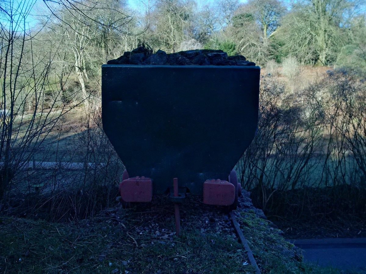 Clearwell Caves wagon end view