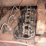 Deutz engine with parts missing