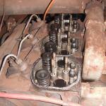 Deutz engine with parts missing
