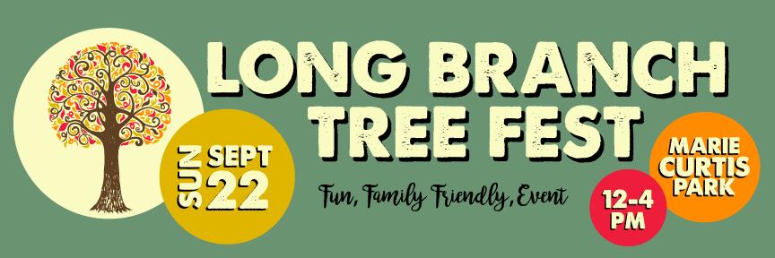 Long Branch Tree Fest poster