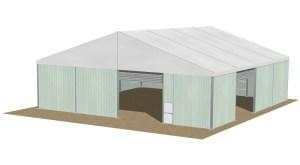 structure chapiteaux entrepôt 20 mètres
